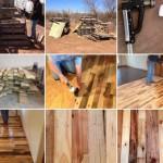 Kako da napravite pod od drvenih paleta