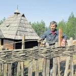 Davnašnje ograde od kolja i pruća